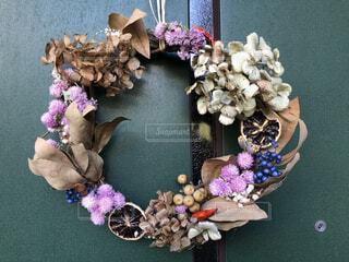 自然,風景,花,アクセサリー,花瓶,バラ,木の実,薔薇,リース,手作り,自然素材,おしゃれ,秋色リース,オシャレリース