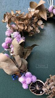 自然,花,きれい,綺麗,葉っぱ,葉,木の実,リース,ハンドメイド,ナチュラル,手作り,華やか,素敵,自然素材,秋色