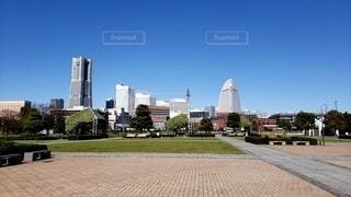 空,公園,建物,屋外,タワー,都会,高層ビル,ダウンタウン