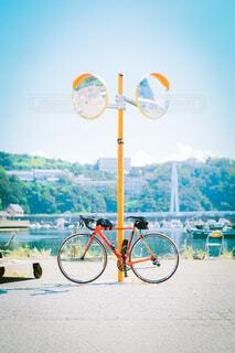海までサイクリングの写真・画像素材[4363263]