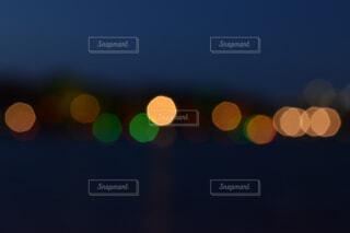 風景,空,夜,夜景,ライト,ぼかし,明るい,街頭