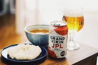 スパイシーカレーとビール!の写真・画像素材[1314961]