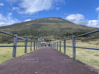 八丈島の山の写真・画像素材[4393456]