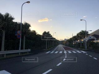 島の道の写真・画像素材[4393455]