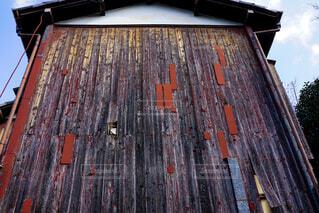 空,建物,屋外,木目,ビンテージ,板壁,風雪,剥げたペンキ