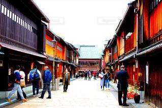 旅行,旅,金沢,町並み,東茶屋街