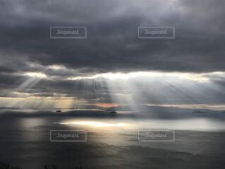 自然,空,屋外,ビーチ,雲,水面,霧,くもり