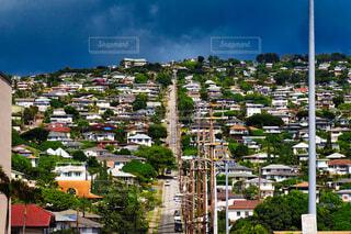 ハワイの坂道の写真・画像素材[4367918]