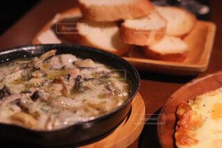 食べ物,屋内,皿,牡蠣,料理,イタリアン,魚介類,アヒージョ