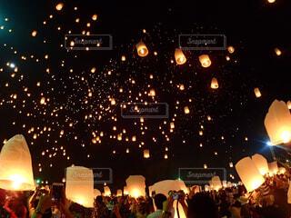 コムローイ祭りの写真・画像素材[4369646]