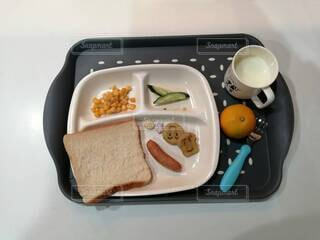 食べ物,食事,朝食,屋内,子供,食器,幼児,スナック,時短クック