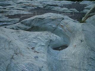 自然,屋外,青,アート,岩,洞窟,壁面,石,地質学