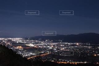 夜の都市の眺めの写真・画像素材[4387087]