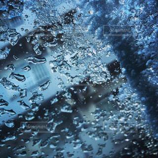 自然,雨,水滴,水面,ドロップ,バブル,液滴