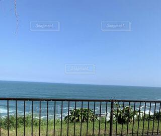 海,空,屋外,水面,眺め