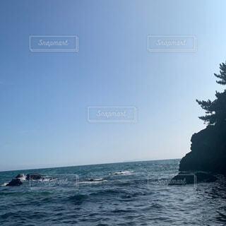 自然,海,空,屋外,ビーチ,水面