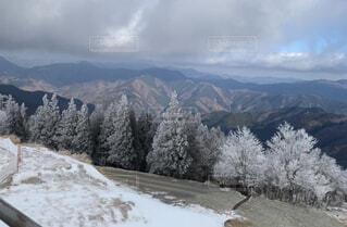 自然,風景,空,冬,雪,屋外,雲,山,樹木