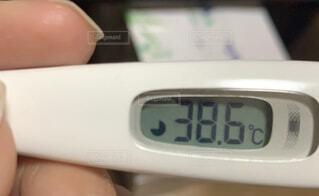 屋内,体温計,熱