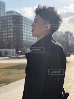 風景,空,春,屋外,北海道,人物,人,人間の顔