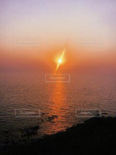 自然,海,空,屋外,太陽,ビーチ,夕暮れ,水面,オレンジ,旅,インド,ロマンティック