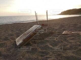 海,空,屋外,砂,ビーチ,水面,地面