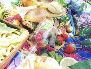 天気のいい日にピクニックの写真・画像素材[4390168]