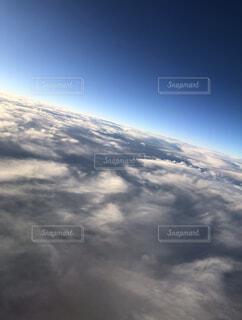 雲の上の写真・画像素材[4414799]