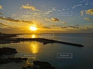 自然,風景,海,空,屋外,太陽,ビーチ,雲,水面,海岸,日の出