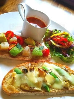 食べ物,パン,野菜,おいしい,ヘルシー,ファストフード