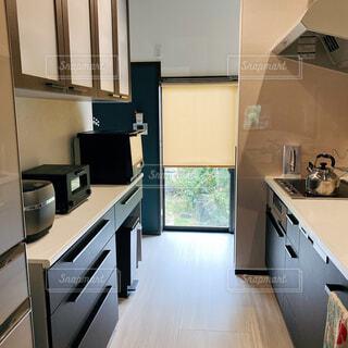 キッチンの眺めの写真・画像素材[4385143]