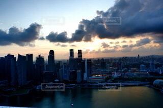 シンガポールの夕暮れの写真・画像素材[4377787]