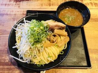 食事,ランチ,テーブル,皿,麺,木目,つけ麺