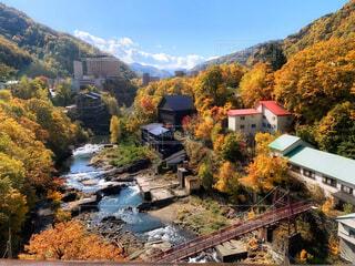 定山渓温泉の写真・画像素材[4395844]