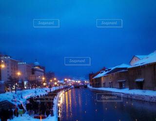 小樽雪あかりの路'2010の写真・画像素材[4395909]