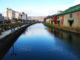 小樽運河'2011の写真・画像素材[4408522]