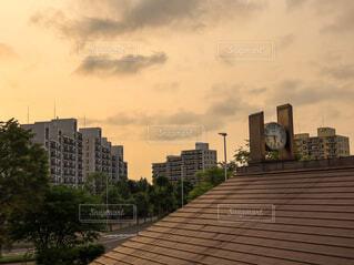 JR北海道 函館本線 森林公園駅からの風景の写真・画像素材[4661556]