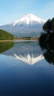 自然,風景,空,屋外,湖,水面,山,反射,樹木,キャンプ,田貫湖