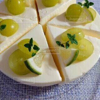 スイーツ,レモン,チーズケーキ,レアチーズケーキ,シャインマスカット,タイム