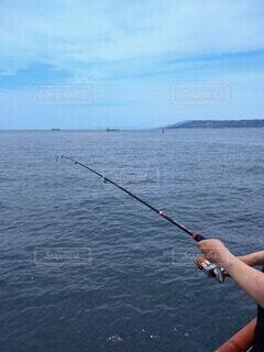 海釣りの写真・画像素材[4544014]