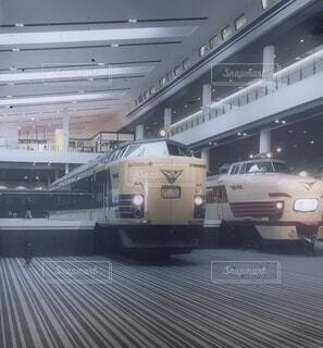京都鉄道博物館にての写真・画像素材[4775067]
