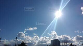 空,屋外,太陽,雲,煙
