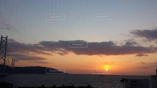 自然,海,空,屋外,湖,太陽,ビーチ,雲,夕暮れ,水面,日の出,設定