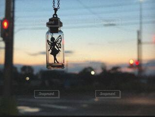 朝焼けの妖精の写真・画像素材[4382080]
