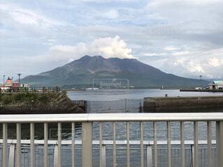 自然,海,空,屋外,雲,水面,山,景色,雄大,鹿児島,桜島,火山,湾