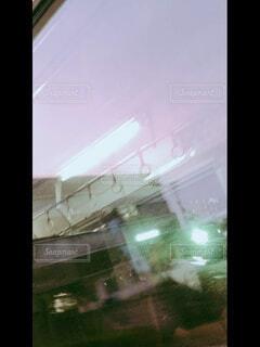 電車,窓,夕方,窓辺,車窓