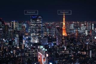 眠らない街東京の写真・画像素材[4385439]