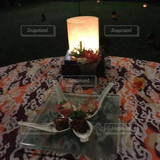 ディナー,海外,前菜,バリ島,インドネシア,新婚旅行,バリ,ザパビリオンズバリ