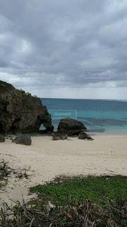 海,屋外,綺麗,海岸,沖縄,岩,旅行,宮古島,ハート岩