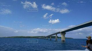 宮古島と大橋の写真・画像素材[903335]