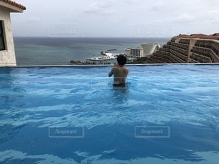 カフーリゾートのプールの写真・画像素材[2163917]